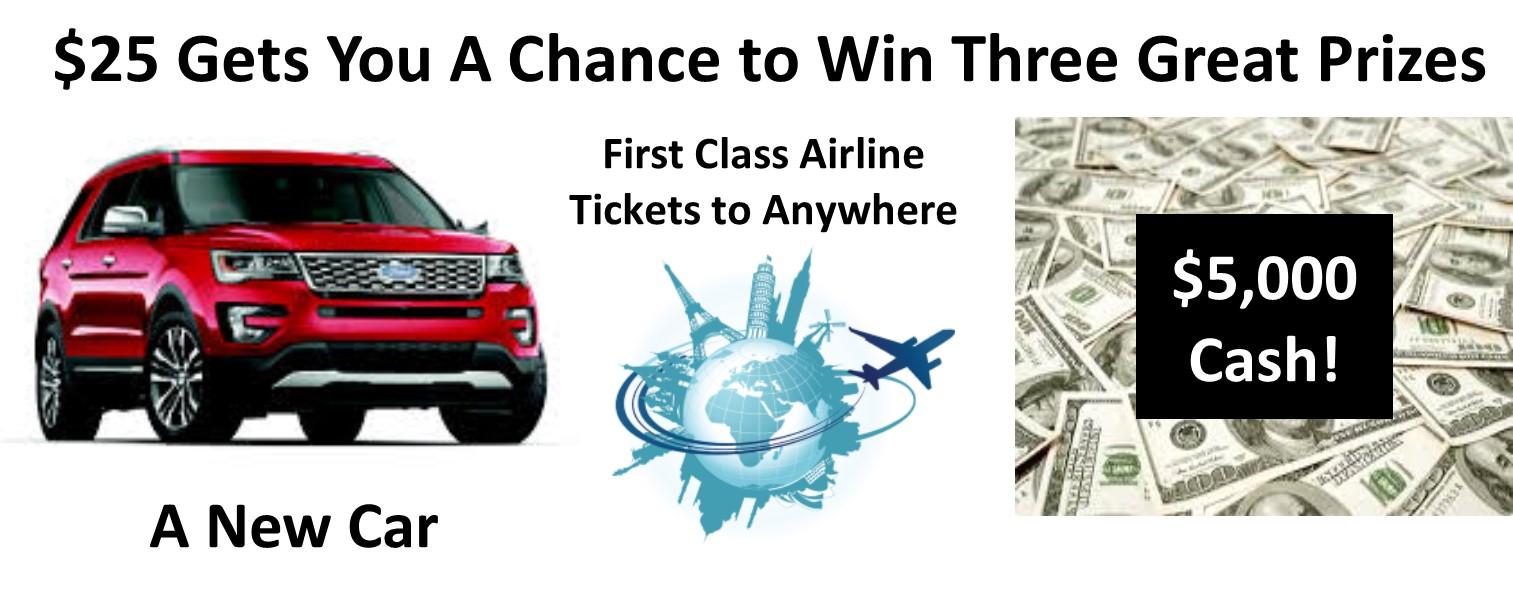 raffle prizes jim click